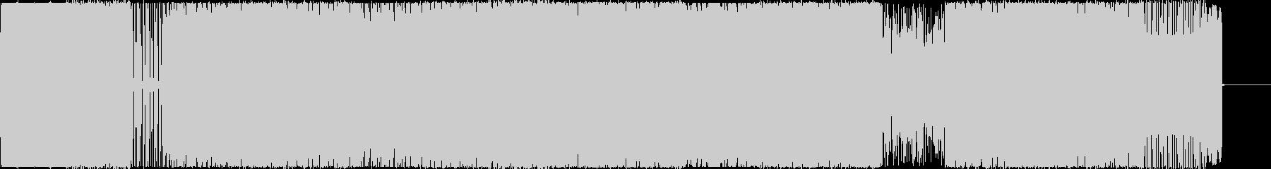 ダーク、森の中をさまよっているイメージの未再生の波形