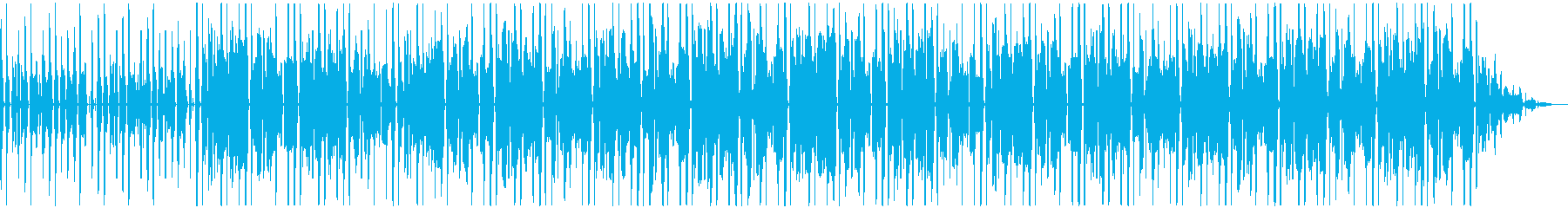 Jazzy Hip Hopの再生済みの波形