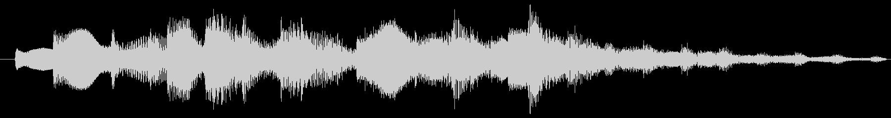 着信音 メロ03の未再生の波形