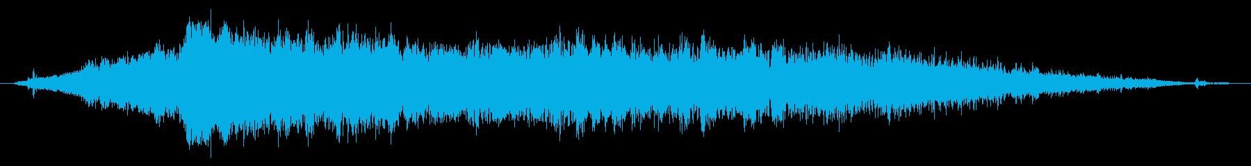 電気自動車:内線:オンボード:ショ...の再生済みの波形