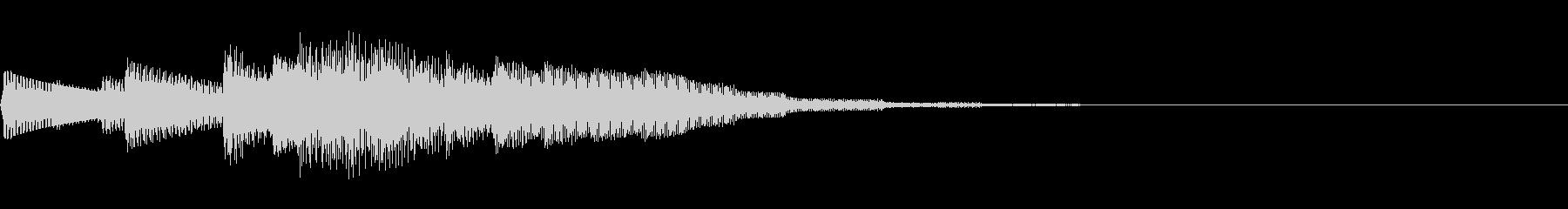 チャララララ(回復クリア/ファミコン#4の未再生の波形