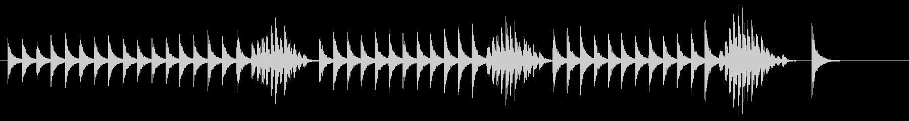 大太鼓3雪音歌舞伎情景描写和風和太鼓雪崩の未再生の波形