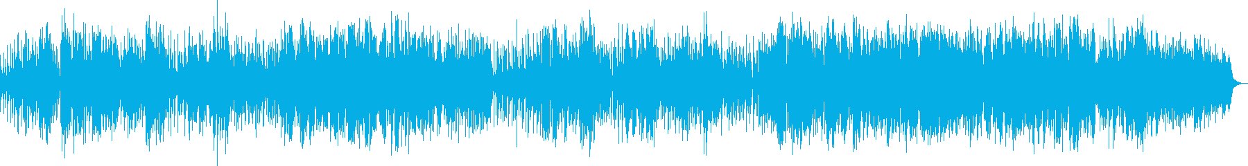 優しくほのぼのと奏でるジャズ・ボッサの再生済みの波形