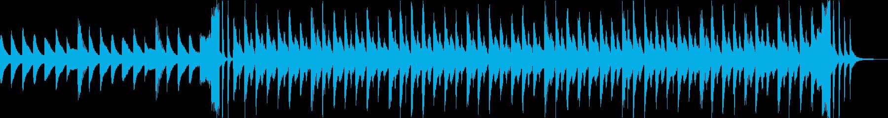 映像CM、ポリリズム・現代的ハウス・奇妙の再生済みの波形
