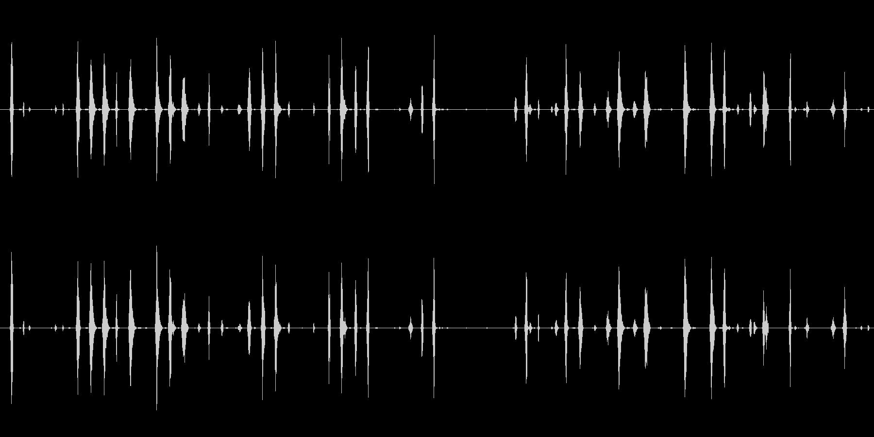 イメージ 電子鳥チャープロング02の未再生の波形