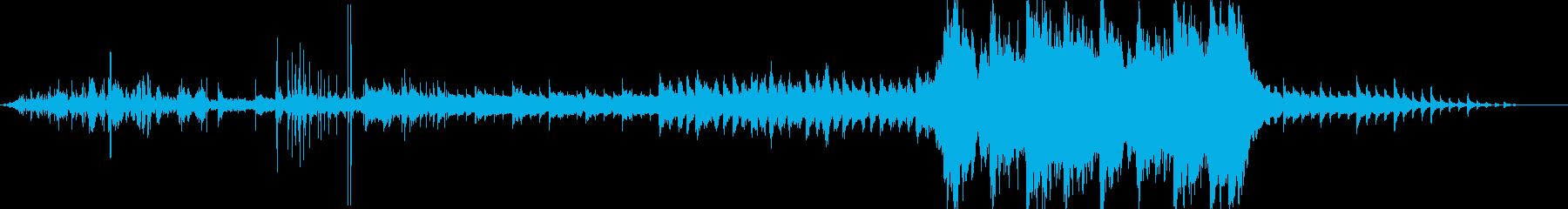 クリスマスを彩るBGMの再生済みの波形