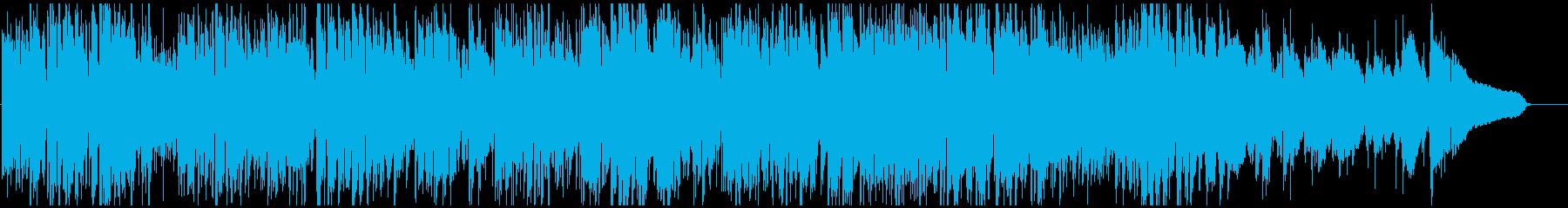 わくわく軽快ジャズサンバ、サックス生演奏の再生済みの波形