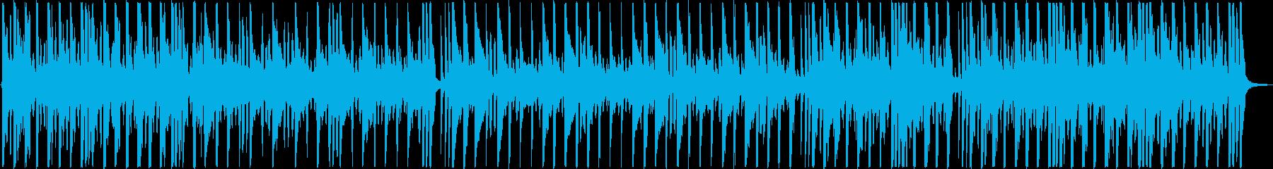 浮遊感のあるピアノが優しいほんわかワルツの再生済みの波形