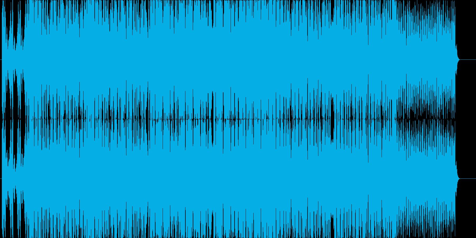 キレのあるシンセとベースの爽快なEDMの再生済みの波形