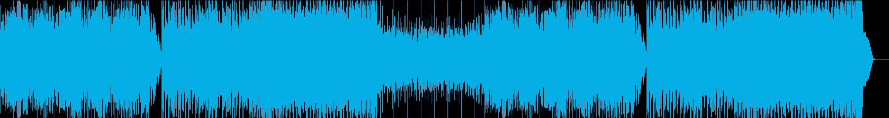 パワフルなリフが印象的なトラップ、EDMの再生済みの波形
