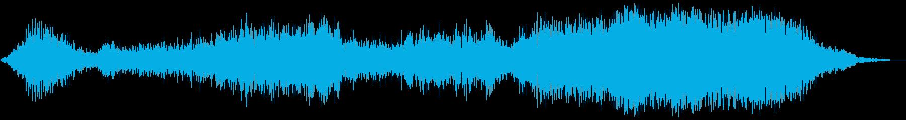 【ホラーゲーム】 滅びていく シーンの再生済みの波形