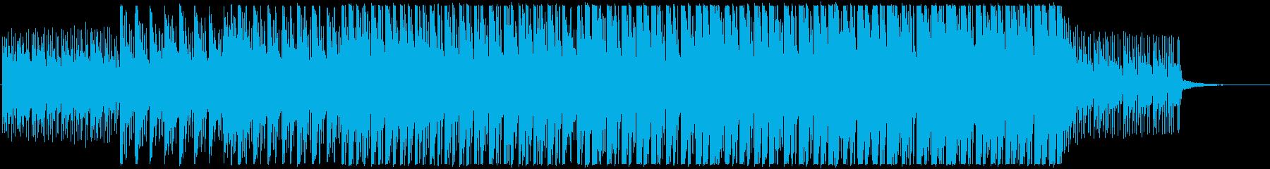 爽やかでおしゃれなコーポレート向けBGMの再生済みの波形