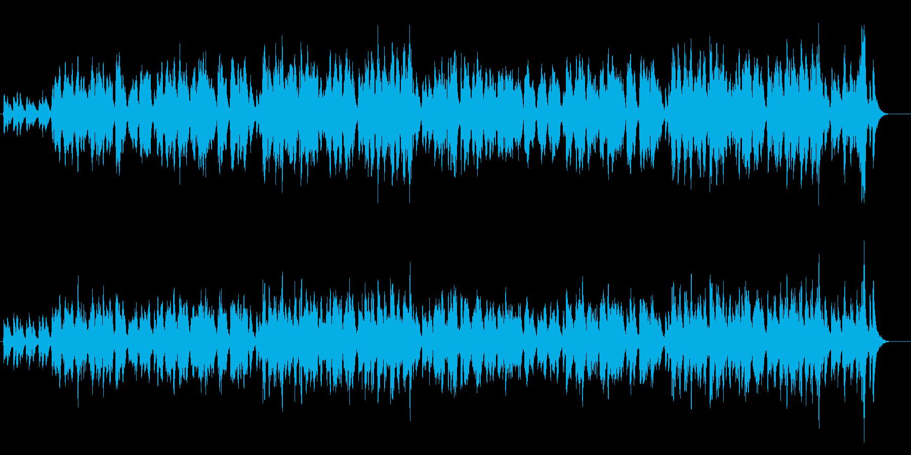 ヨーロッパ/優雅なフルート&ストリングスの再生済みの波形