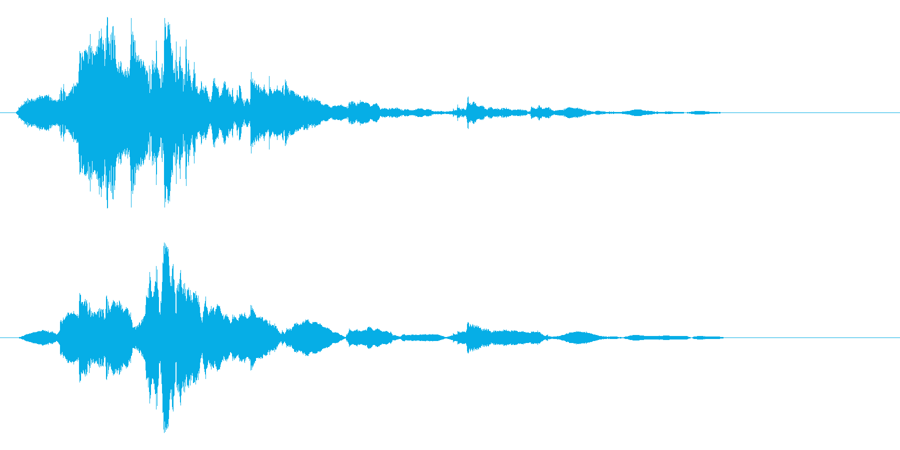 錠剤瓶を振る(残り少ない、2,3錠)の再生済みの波形