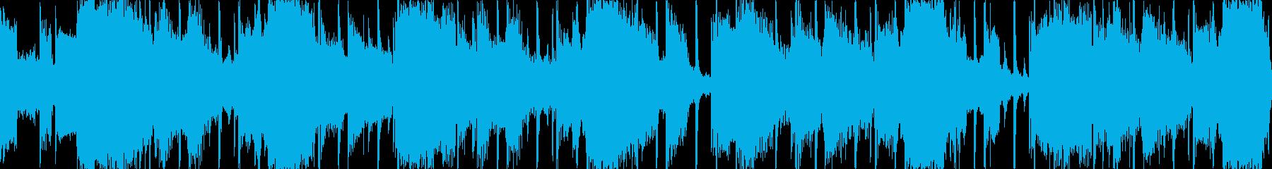 エレクトロニック エレキギター パ...の再生済みの波形