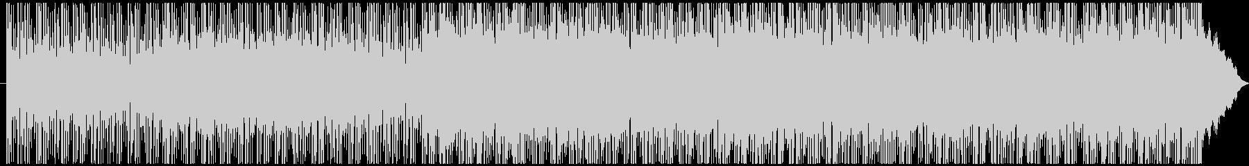 少し切ないロックバラードの未再生の波形