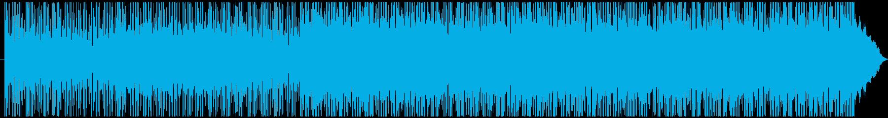 少し切ないロックバラードの再生済みの波形