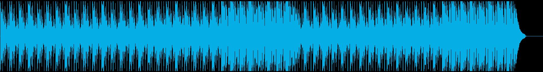 企業VPに わくわく・爽やかピアノメインの再生済みの波形