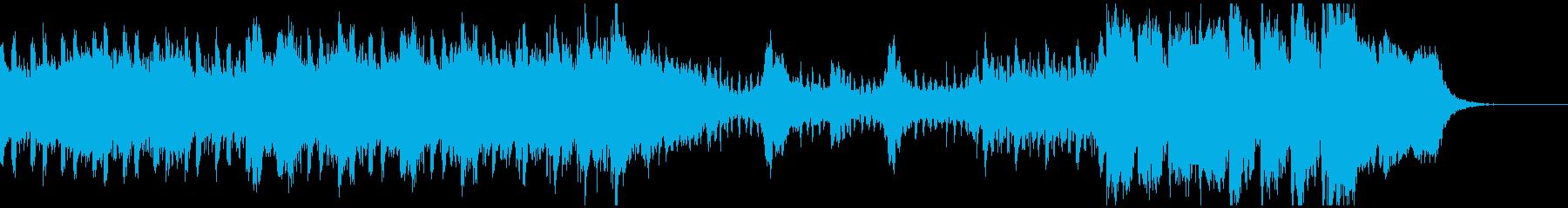 洋画トレーラー オーケストラ クワイヤ付の再生済みの波形