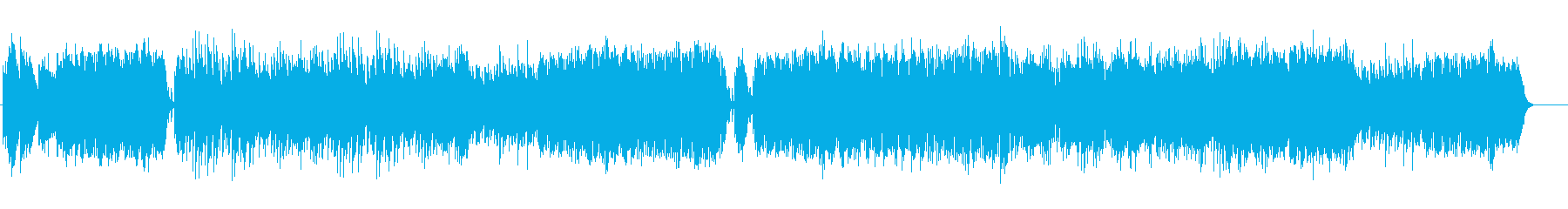 切ないメロディーが印象的なピアノの再生済みの波形