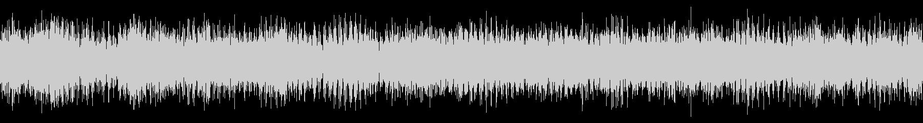 小型クルーズ船の停泊中の音の未再生の波形