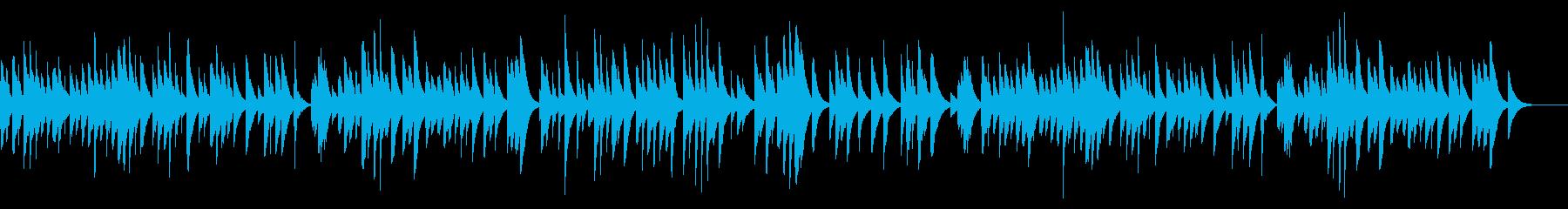 亡き王女のためのパヴァーヌ カード式オルの再生済みの波形