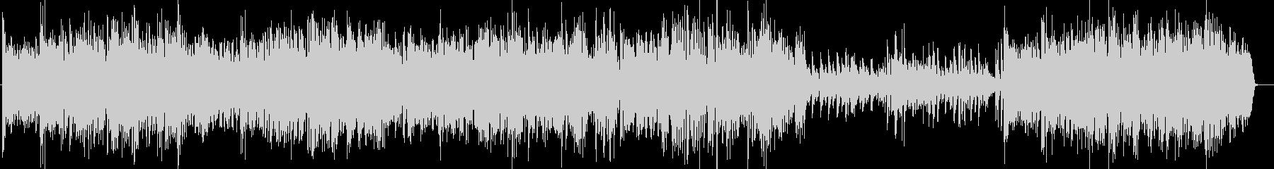 ビッグバンドジャズG線上のアリアBachの未再生の波形