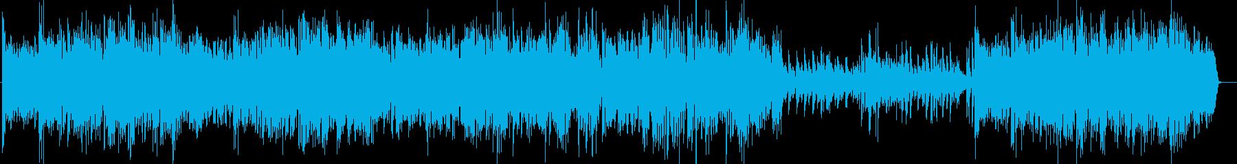 ビッグバンドジャズG線上のアリアBachの再生済みの波形