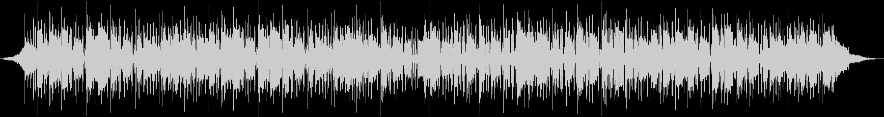 トロンボーンメロディのロックの未再生の波形