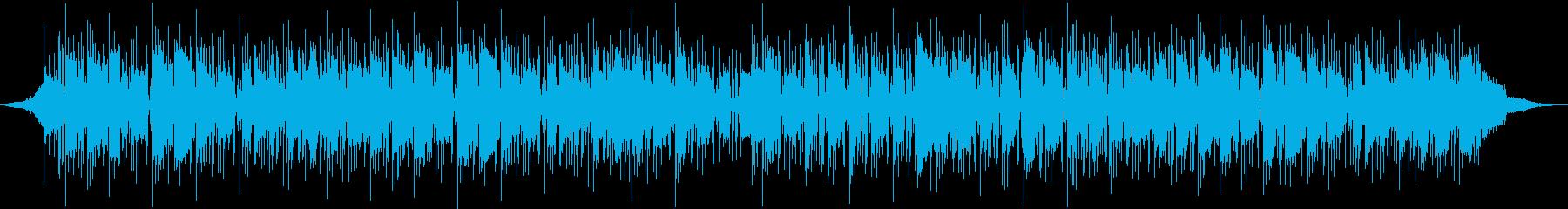 トロンボーンメロディのロックの再生済みの波形