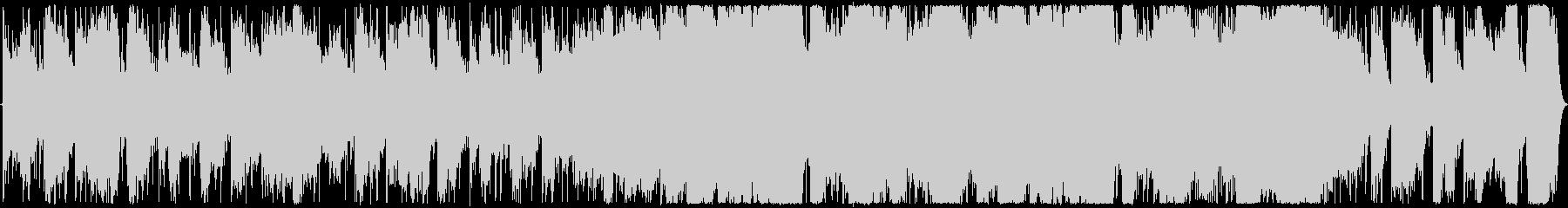 太古の時代をイメージの未再生の波形