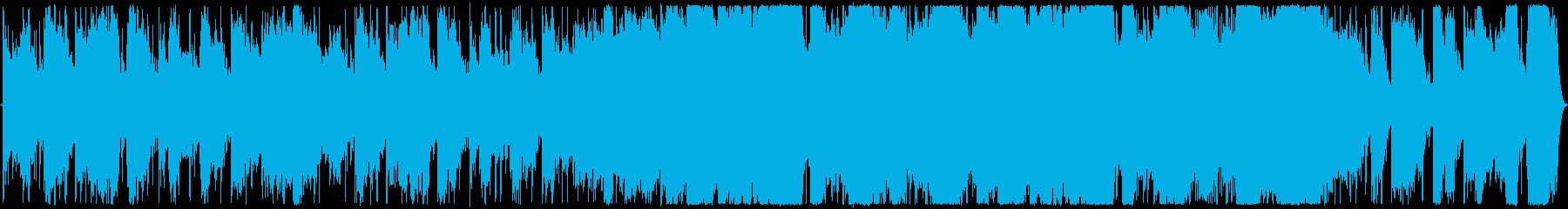 太古の時代をイメージの再生済みの波形