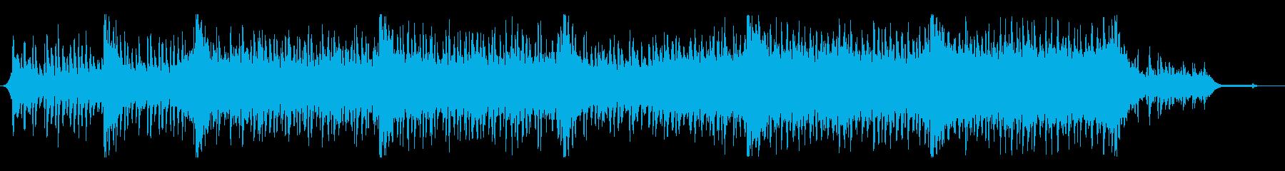 高揚感のある爽やかなオーケストラ曲の再生済みの波形