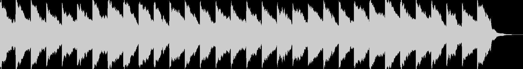 踏み切りの音(ドップラー効果付き)の未再生の波形