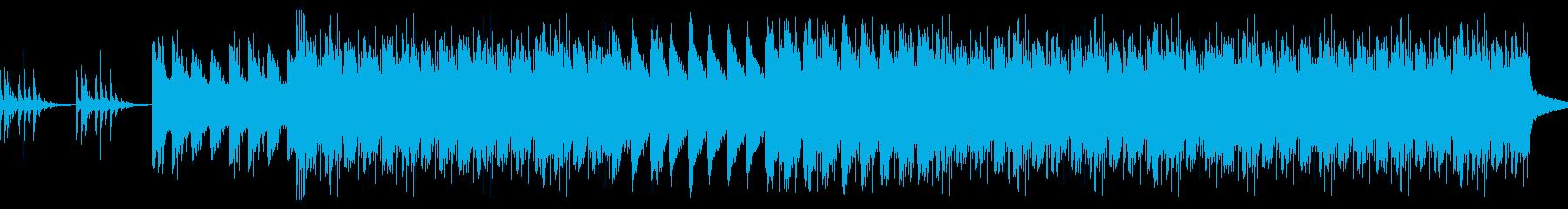 圧倒的な畏怖を感じさせるBGMの再生済みの波形