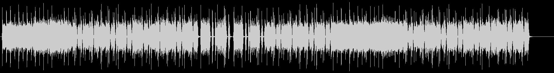 短縮verミドルテンポのヘヴィロックリフの未再生の波形