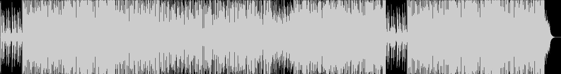 トランペットが軽やかなスムースジャズの未再生の波形