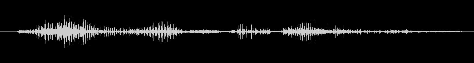 鳴き声 男性の呪い悪09の未再生の波形