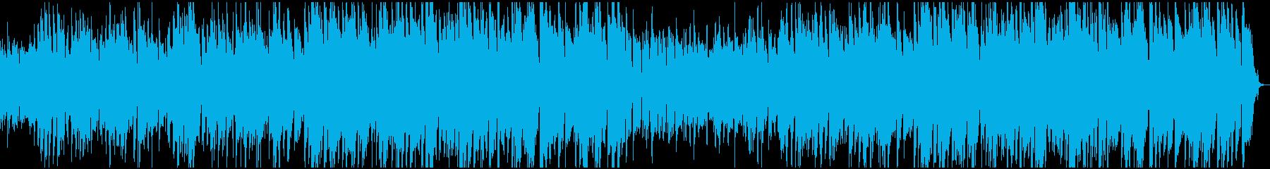 カントリースタイルの音楽トラックは...の再生済みの波形