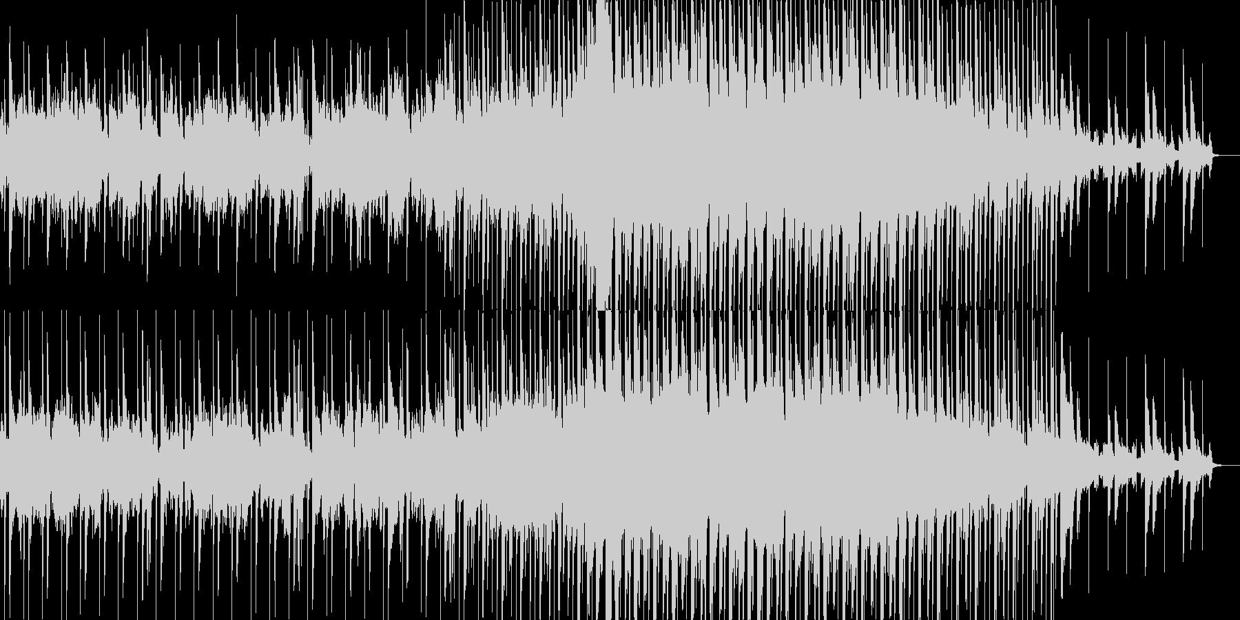 60秒ver ポップなかわいらしいテクノの未再生の波形