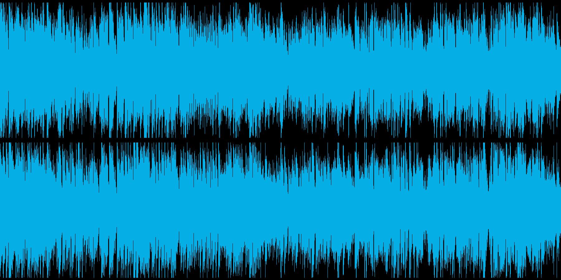 元気モリモリな正統派ジャズ ※ループ版の再生済みの波形