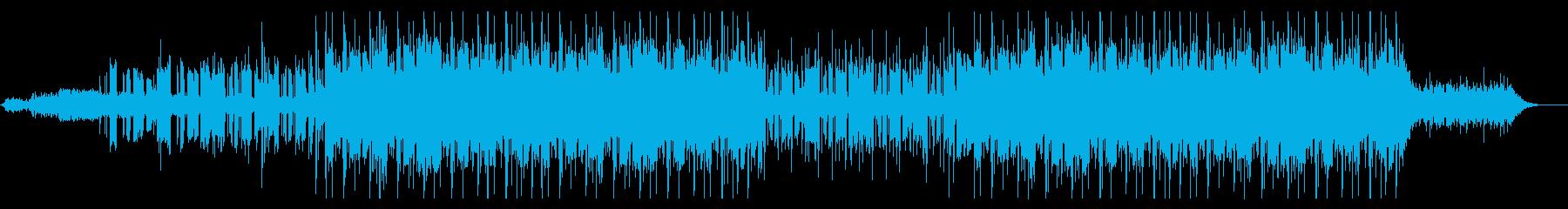 ネオソウルギターとヒップホップの再生済みの波形