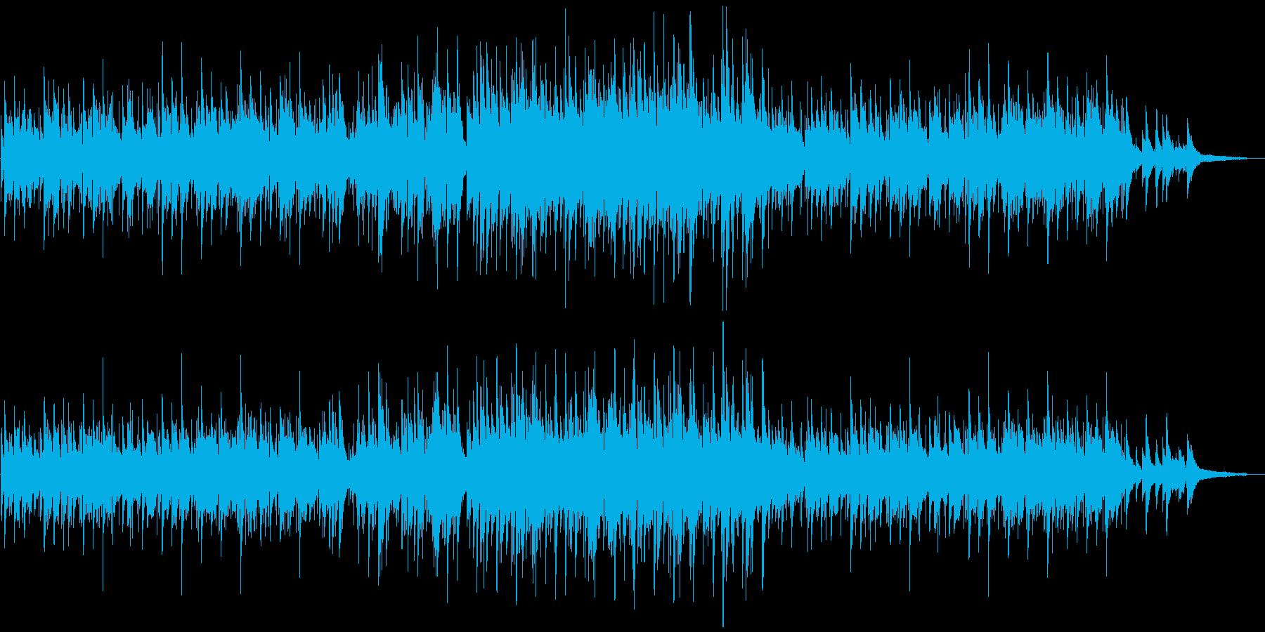 ピアノの旋律が美しいイージーリスニングの再生済みの波形