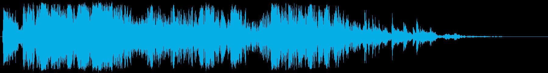 ビッグメタルとジャンククラッシュの再生済みの波形