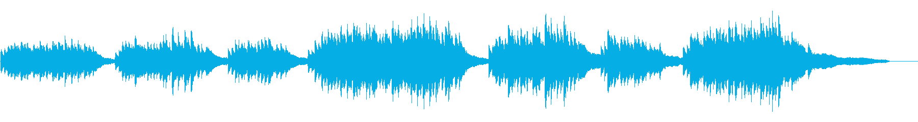 シューマン 我儘で一徹なピアノ曲 高音質の再生済みの波形