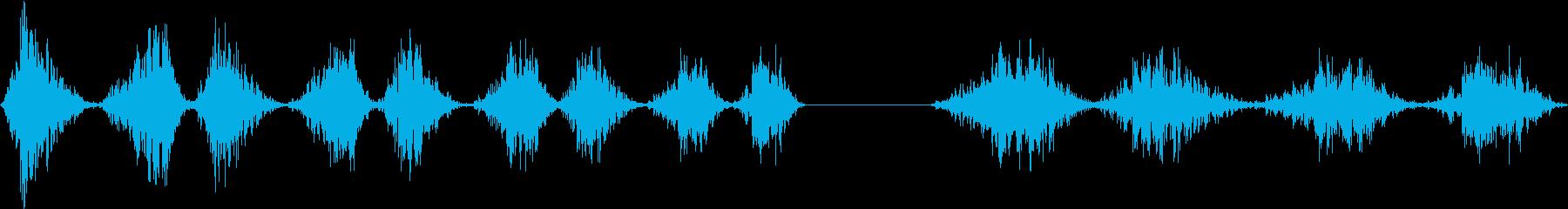 シートメタル、シリンダー、ローリン...の再生済みの波形