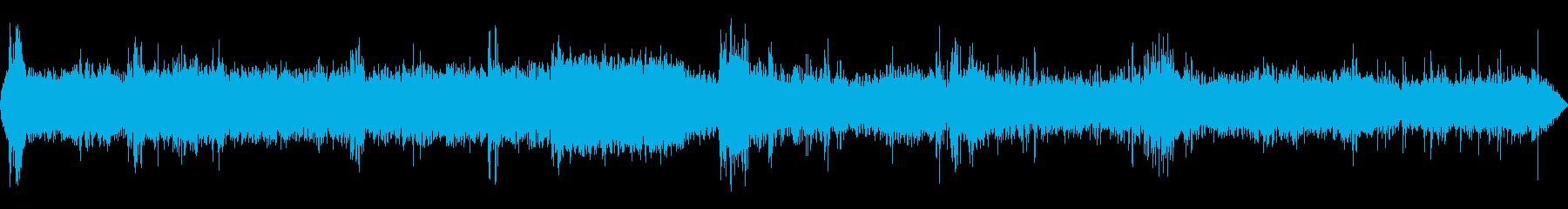 レンジローバーSUV:INT:ラフ...の再生済みの波形