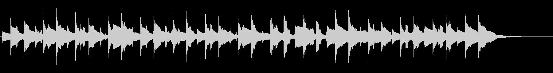 ギターピアニカほのぼの系の未再生の波形