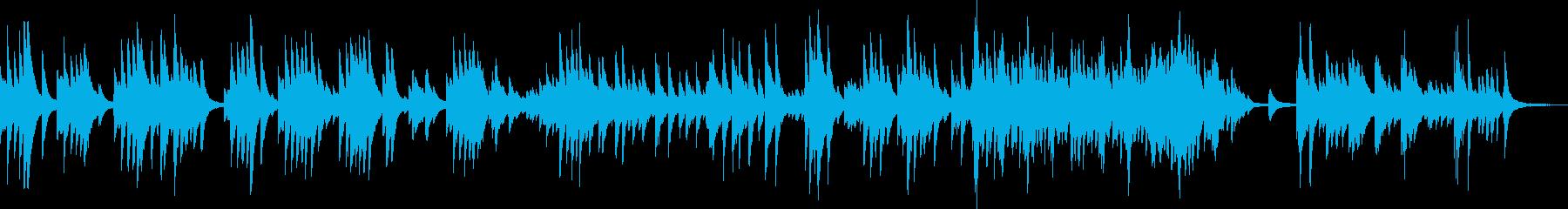 悲しいピアノBGM(切ない・かっこいい)の再生済みの波形