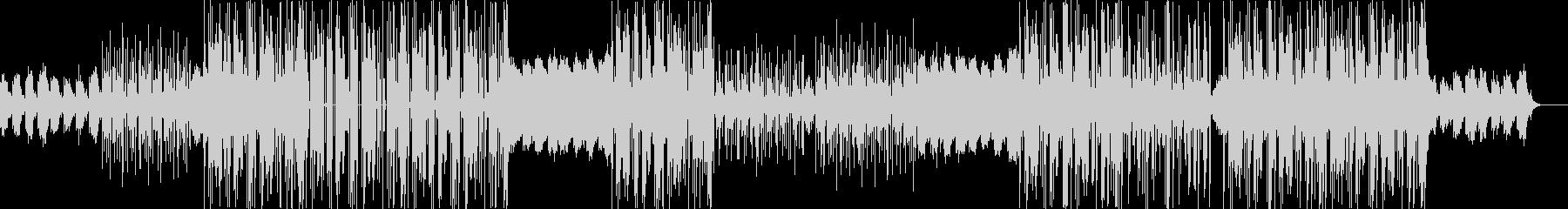 90年代R&Bと、トラップビートの融合の未再生の波形